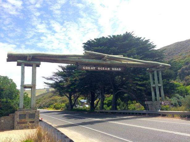 Memorial Arch of the Great Ocean Road