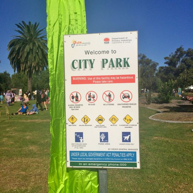 City Park, Griffith, NSW