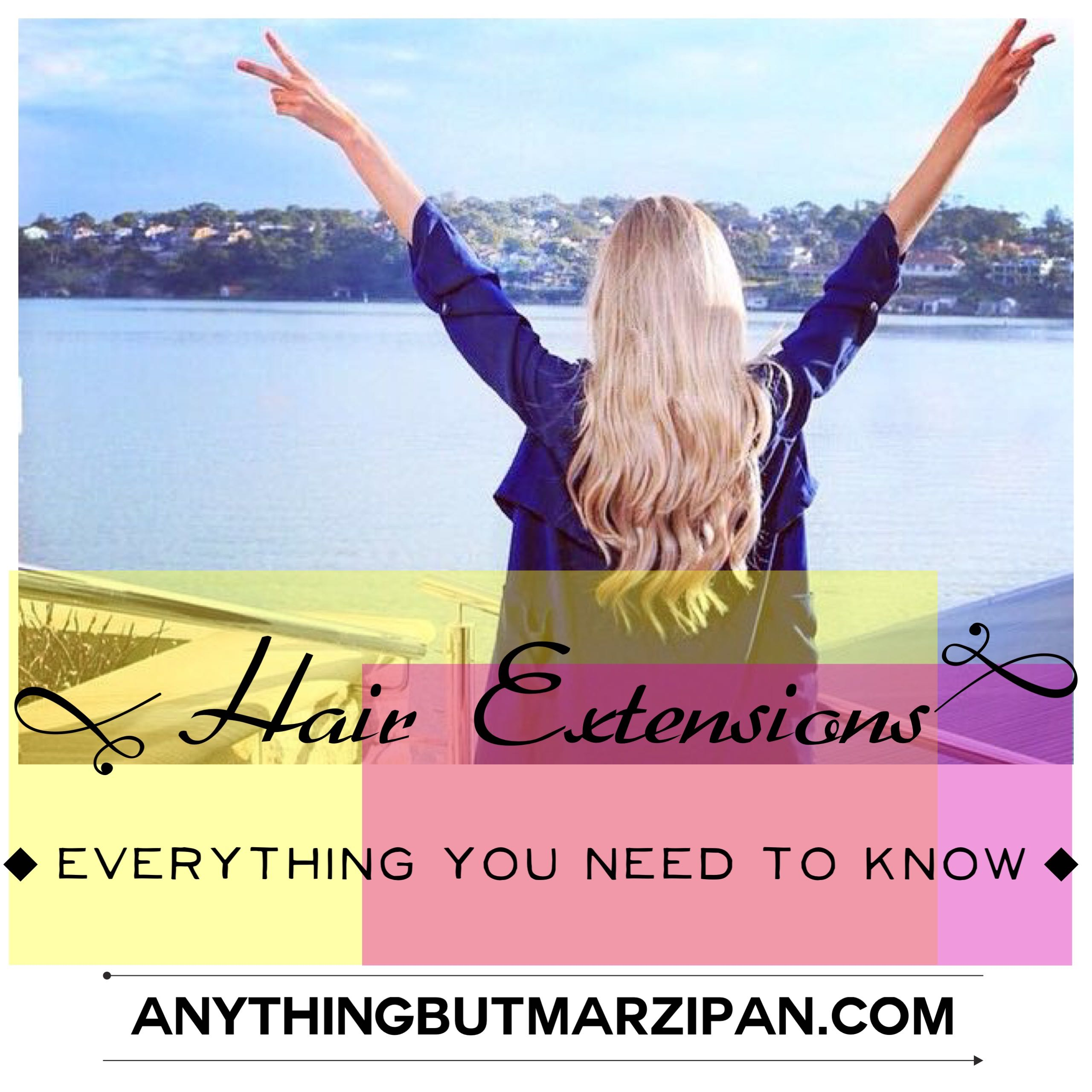 Hair Tip 5 Hair Extensions 101 Anything But Marzipan