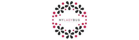 My Lady Bug Subscription box uses Veeda Natural Products