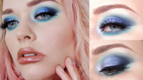 How to Wear Blue Eyeshadow