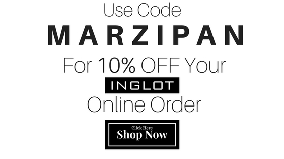 Use Code MARZIPAN for 10% OFF INGLOT Canada