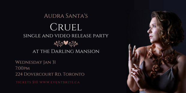 Audra Santa Cruel Video Release Event