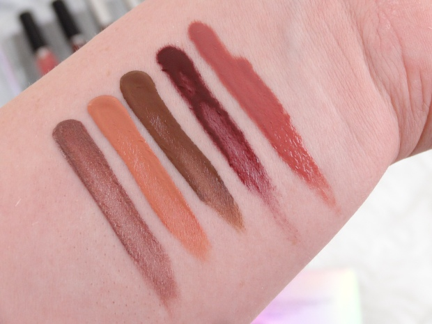 Hard Candy So Kissable Lip Set Swatches