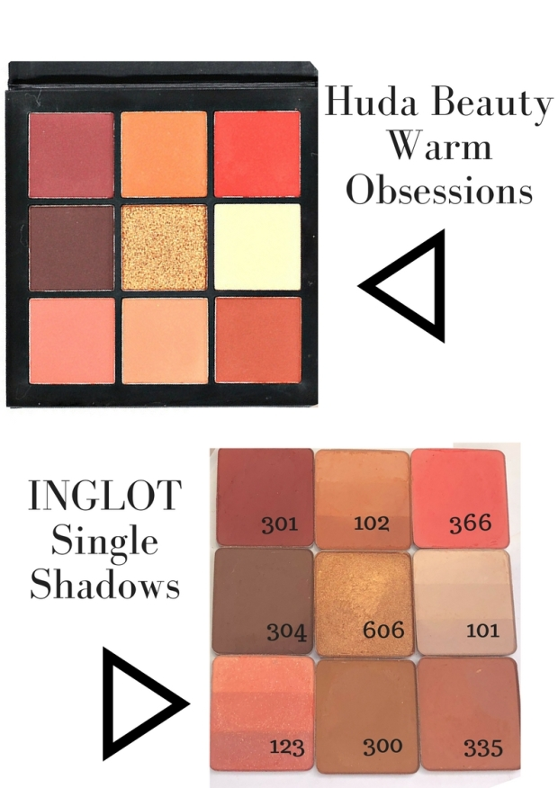 DUPE Huda Beauty Warm Brown Obsession