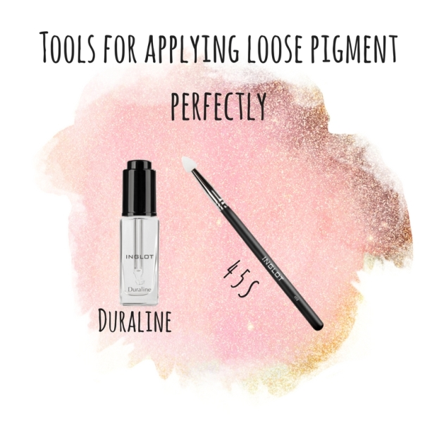 Easiest way to apply loose pigment