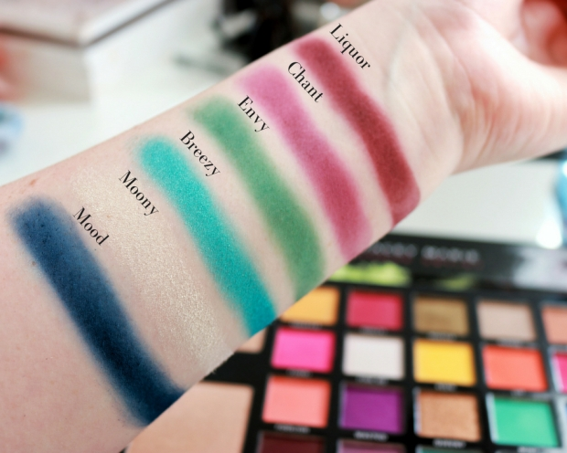 Bperfect x Stacey Marie Carnival Palette Swatches