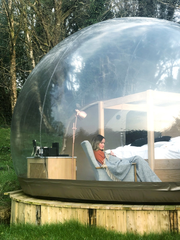 Bubble Dome Finn Lough Resort