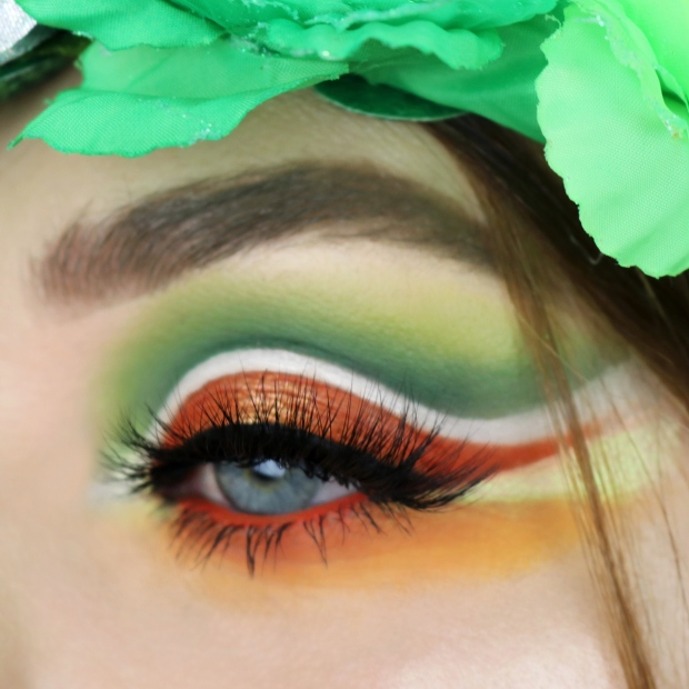 St Patricks Day Makeup