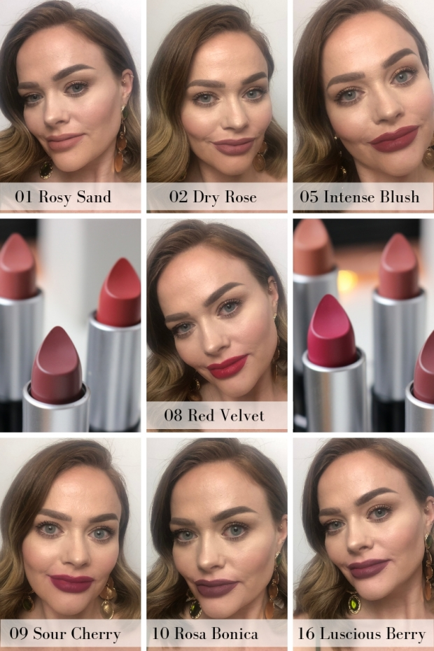 Flormar hd lip swatches